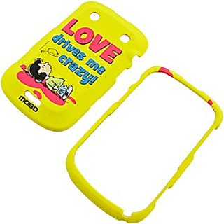 MOBO ECDBB9900SNSL13 Licensed Snoopy Peanuts Case for BlackBerry 9900 9930 Bold - Retail Packaging - Crystal