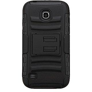 Asmyna Advanced Armor Case for Huawei Y538 (Union) - Retail Packaging - Black