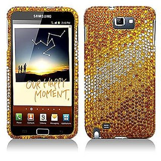 Aimo Wireless SAMI9220PCDI197 Bling Brilliance Premium Grade Diamond Case for Samsung Galaxy Note i717 - Retail Packagin
