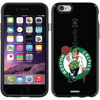 Coveroo CandyShell Black Cell Phone Case for iPhone 6 - Retail Packaging - Boston Celtics Primary