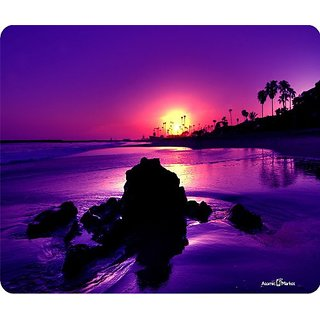 Palm Beach Sunset Mouse Pad