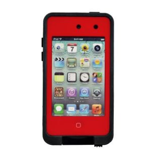 Generic MC0045 Cell Phone Case for Pod 4th Generation - Non-Retail Packaging - Red