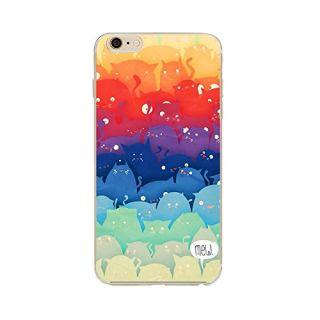iPhone 6s case, Geekmart Soft TPU Cartoon Cat Cover Case 4.7 inch (G)