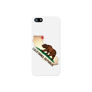 Cellet Proguard Case with California for Apple iPhone 5 - White