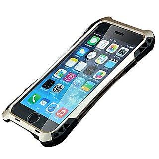 iPhone 6s Case,G-WACK Carbon Fiber Aluminum Metal Gorilla Glass Waterproof Shockproof Dirt Proof (For iPhone 6/6S Black+