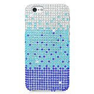 Eagle Cell Diamond Protector Case for Apple iPhone 6 - Retail Packaging - Blue Waterfall