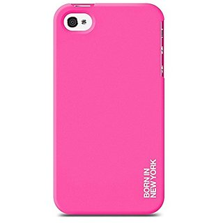 id-America Hue Soft Grip Case for iPhone 4/4S - Retail Packaging - Pink