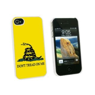 Graphics and More Gadsden Flag Dont Tread On Me Snap-On Hard Protective Case for Apple iPhone 4/4S - Non-Retail Packagin