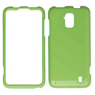 Cell Armor Snap-On Cover for ZTE Z795G - Retail Packaging - Honey Light Green