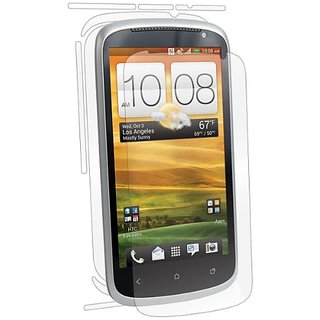 BodyGuardz BZ-UHVX-1112 UltraTough Optically Clear Full Body Protectors with Anti-Microbial-Gel/Dry Apply for HTC One VX