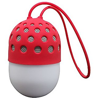 JS-BASE Mini Portable Wireless Bluetooth Speaker Colorful Lights,IPX4 Waterproof, Sport Loudspeakers Stereo,Built in Mic