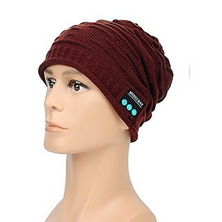 Outdoor Bluetooth Wireless Hat Cap with Built-in Stereo Speakers Bluetooth Headphones Headsets Earphone W/microphone Han