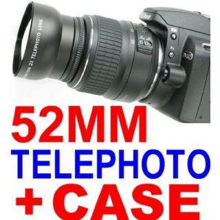 Neewer 52mm Telephoto Lens For Nikon D40 D50 D60 D70 D80 D40X