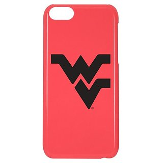 NCAA West Virginia Mountaineers Case for iPhone 5C, One Size, Pink