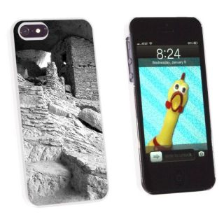 Graphics and More Gila Cliff Dwellings Ruins Monument New Mexico Vintage - Snap-On Hard Protective Case for Apple iPhone