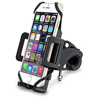 Bike Mount, No1seller Universal Cell Phone Bicycle Handlebar Baby Stroller Motorcycle Holder Cradle Mount for iPhone 6 6