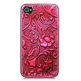 Limited Luxury Cases IPH3601-4 TPU Phone Case for iPhone 4/4S - 1 Pack - Retail Packaging - Fushia