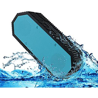 Waterproof Bluetooth Speaker - IPX7 Rugged, Portable, Dustproof, Shockproof and Splashproof perfect for outdoors, campin