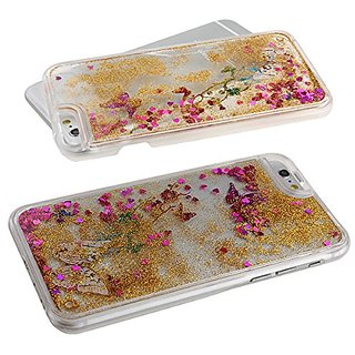 iPhone 6 Case,iPhone 6 Sparkle Case,iPhone 6 Flowing Case,iPhone 6 Liquid Case,IKASEFU Luxury Creative Design Transparen