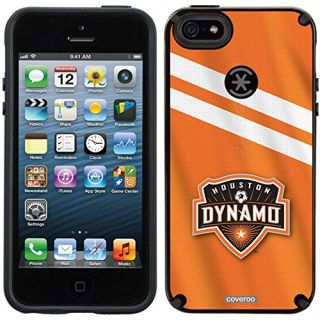 Coveroo CandyShell Cell Phone Case for iPhone 5/5S - Retail Packaging - Houston Dynamo Jersey