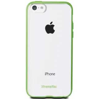 XtremeMac Microshield Accent for iPhone 5c Green Apple