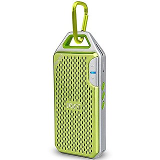 MIFA F4 Ultra-light Wireless Bluetooth Speaker Green,With Mic,Micro SD,Hook ,And Aluminum Alloy Housing shock resistance