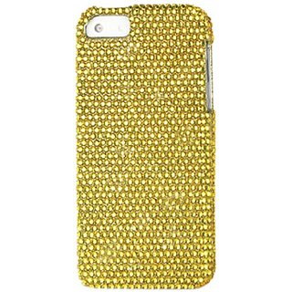 Reiko Diamond Protector Cover for iPhone 5 - Retail Packaging - Gold