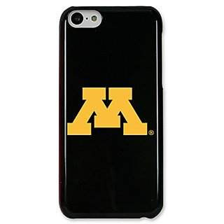 NCAA Minnesota Golden Gophers Case for iPhone 5C, One Size, Black