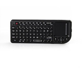 VENSMILE 2.4G Ultra Mini Wireless Keyboard with Mouse Touchpad 2.4G Air Mouse for Windows PC Android TV BOX Mac / Xbox /