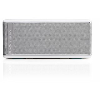 Riva TurboX High Performance Premium Mobile Bluetooth Speaker (White)