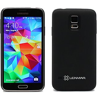 Lenmar Extended Battery Case for Samsung Galaxy S5, 80% More Charge, 2200mAh Battery with Cover Included, Slim, Lightwei