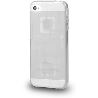 Carryingmate Industries USA 36075 Grid Case for iPhone 5 - 1 Pack - Retail Packaging - White