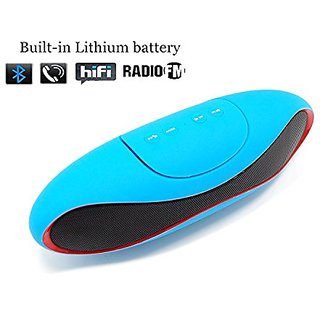 JS-BASE Bluetooth 3.0 Speaker with NFC, Wireless Portable Stereo Sound Speaker with Microphone,Support FM & TF Card Musi
