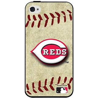 MLB Cincinnati Reds Iphone 4/4s Hard Cover Case Vintage Edition
