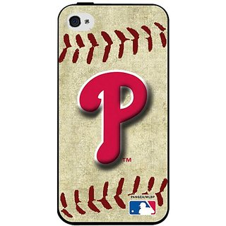 MLB Philadelphia Phillies Iphone 4/4s Hard Cover Case Vintage Edition