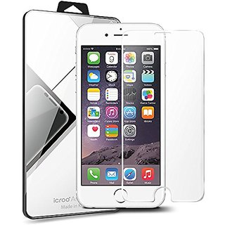 iPhone SE Screen Protector, Antibacterial Tempered Glass Screen Protector, iPhone 5S/5C/5/SE, i-croo A-line, Worlds Thin