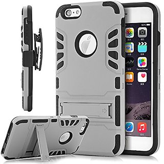 iPhone 6S Case With Belt Clip, TIANLI Armor Holster Defender Case with Kickstand and Belt Swivel Clip for iPhone 6S/6 4.