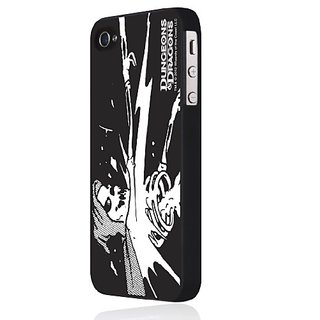Incipio DD-016 Feather Case for iPhone 4/4S - 1 Pack - Retail Packaging - Dungeons and Dragons - Skeleton Wizard