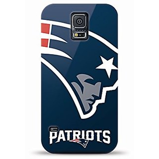 Mizco Sports Case Samsung Galaxy S5 Licensed NFL New England Patriots TPU Gel Case