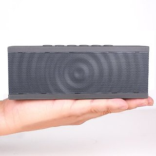 Koomus Ursus Wave Portable Wireless Bluetooth Speaker with Siri Technology, Strong Base and Premium Quality Sound (Gray)