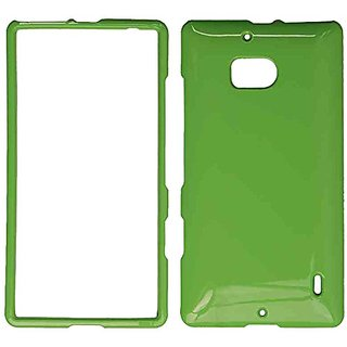 Cell Armor Nokia Lumia Icon/929 Snap-On Protective Cover - Retail Packaging - Honey Light Green