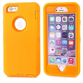 IIYBC Hybrid Heavy Duty Plastic Bumper Soft Silcone Case Cover For Apple iPhone 6s & iPhone 6 4.7