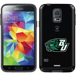 Coveroo CandyShell Case for Samsung Galaxy S5 - Retail Packaging - Black/Binghamton Bearcat BU Design
