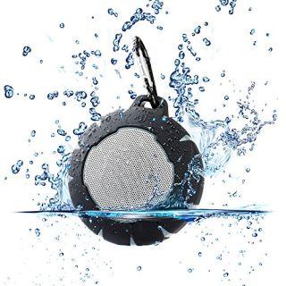 Urban Beatz GEO Rugged Wireless Bluetooth Speaker. Shockproof Waterproof Outdoor Speaker. Built-in Microphone, Playback
