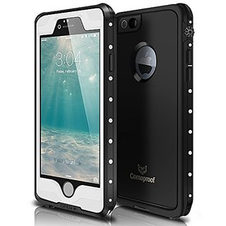 Waterproof iPhone 6s Plus Case, Comeproof Slim iPhone 6s Plus Case, Touch-ID Compatible, Military Shockproof Snow Dust D