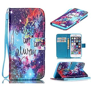 iphone 6s Plus Case, iphone 6 Plus Case, ArtMine Forever and Always Love PU Leather Wallet Pouch Kickstand Feature Phone