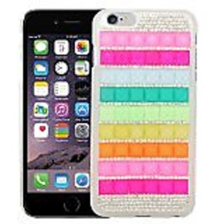 Eagle Cell 3D Crystal Diamond Hard Case for Apple iPhone 6 Plus - Retail Packaging - B3D16