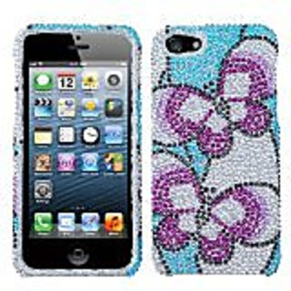 Asmyna IPHONE5HPCDM144NP Luxurious Dazzling Diamante Bling Case for iPhone 5 - 1 Pack - Retail Packaging - Nifty...