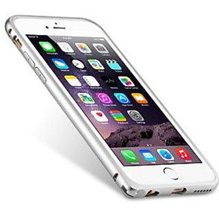 Melkco - Q Arc Aluminum Bumper Case for Apple iPhone 6 (4.7 Inch) - Silver (APIP6FALQASRME)