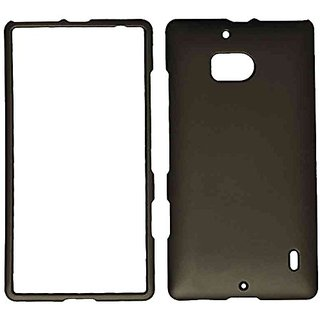 Cell Armor Nokia Lumia Icon/929 Snap-On Protective Cover - Retail Packaging - Rubberized Honey Metallic Gray